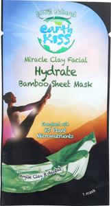 EARTH KISS: Mask Clay Facial Hydrate, .84 oz