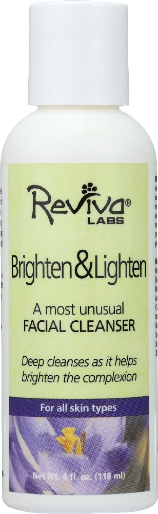 REVIVA: Professional Strength Brightening Facial Cleanser, 4 oz