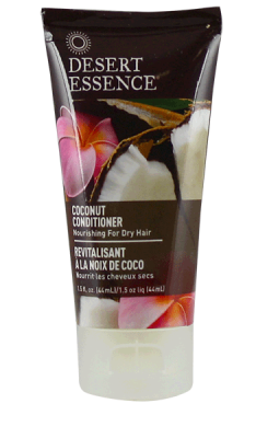 DESERT ESSENCE: Conditioner Coconut Travel Size, 1.5 fl oz