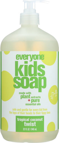 EO PRODUCTS: Everyone for Kids 3-in-1 Tropical Twist Soap, 32 oz