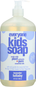 EO PRODUCTS: Everyone for Kids 3-in-1 Lavender Lullaby Soap, 32 oz
