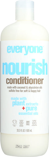 EO PRODUCTS:  Everyone Hair Nourish Sulfate Free Conditioner, 20.3 Oz