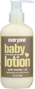 EVERYONE: Calendula Oat Baby Lotion, 8 oz