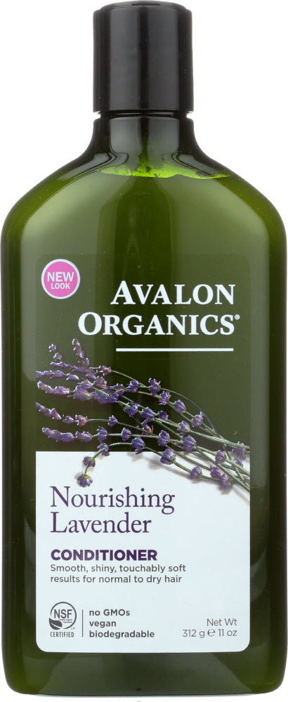 AVALON ORGANICS: Conditioner Nourishing Lavender , 11 oz