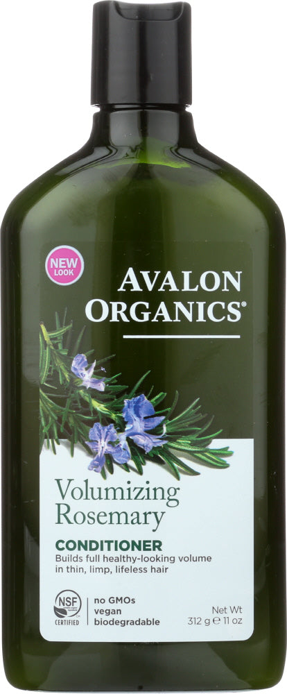 AVALON ORGANICS: Conditioner Volumizing Rosemary, 11 oz