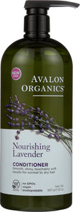 AVALON ORGANICS: Conditioner Lavender Vsize, 32 oz