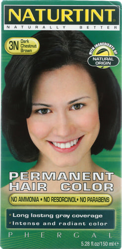 NATURTINT: Permanent Hair Color 3N Dark Chestnut Brown, 5.28 oz