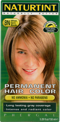 NATURTINT: Permanent Hair Color 8N Wheat Germ Blonde, 5.28 oz