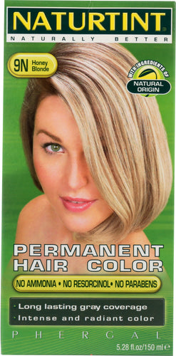 NATURTINT: Permanent Hair Color 9N Honey Blonde, 5.28 oz