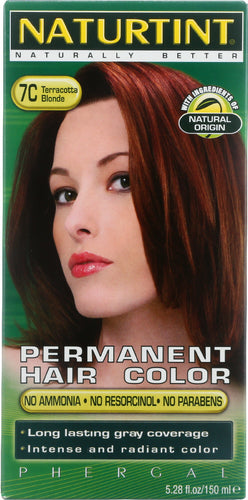 NATURTINT: Permanent Hair Color 7C Terracotta Blonde, 5.28 oz