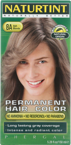 NATURTINT: Permanent Hair Color 8A Ash Blonde 5.28 Oz