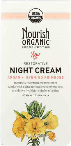 NOURISH: NIGHT CREAM RESTORE ORG (1.700 OZ)