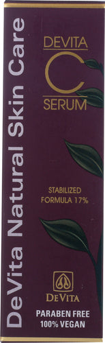 DEVITA: Devita-C Serum Stabilized Formula 17%, 1 oz
