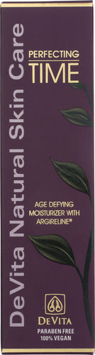 DEVITA: Perfecting Time Age Defying Moisturizer with Argireline, 2.5 oz