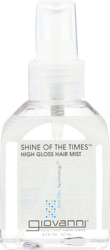 GIOVANNI COSMETICS: Shine Of The Times Styling Spray, 4 oz