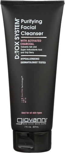 GIOVANNI COSMETICS: D:tox System Purifying Facial Cleanser Step 1, 7 oz