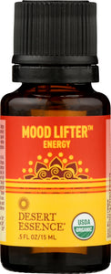 DESERT ESSENCE: Mood Lifter Organic Essential Oil Blend, .5 fo