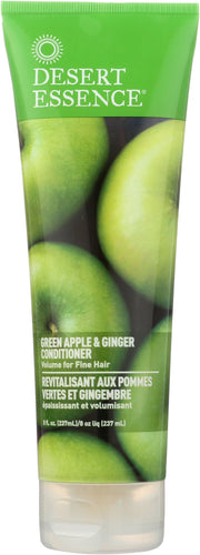 DESERT ESSENCE: Conditioner Green Apple & Ginger, 8 oz