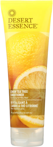 DESERT ESSENCE: Conditioner for Oily Hair Lemon Tea Tree, 8 oz