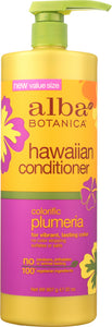 ALBA BOTANICA: Conditioner Colorific Plumeria, 32 oz - One Body Beauty