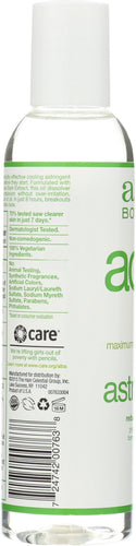 ALBA BOTANICA: Natural Acne Dote Deep Clean Astringent Oil-Free, 6 oz - One Body Beauty