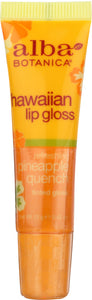 ALBA BOTANICA: Lip Gloss Pineapple Quench, 0.42 oz - One Body Beauty