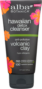 ALBA BOTANICA: Cleanser Detox Hawaiian, 6 oz - One Body Beauty