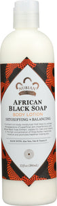 NUBIAN HERITAGE: Body Lotion African Black Soap, 13 oz