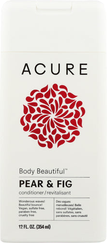 ACURE: Body Beautiful Conditioner Pear & Fig, 12 fl oz - One Body Beauty