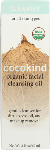 COCOKIND: Organic Facial Cleansing Oil, 2 oz