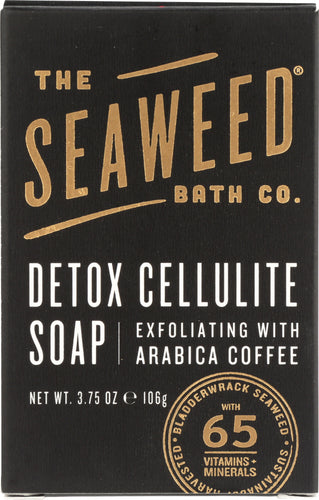 SEA WEED BATH COMPANY: SOAP BAR DETOX CELLULITE (3.750 OZ)
