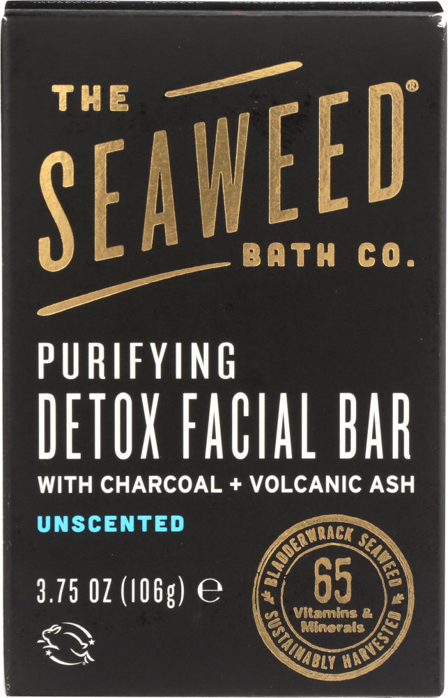 SEA WEED BATH COMPANY: DETOX BAR FACIAL PURIFYING (3.750 OZ)