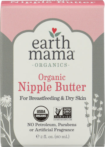 EARTH MAMA: Angel Baby Natural Nipple Butter, 2 oz