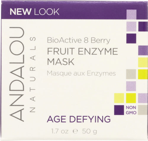 ANDALOU NATURALS: Fruit Enzyme Mask BioActive 8 Berry Age Defying, 1.7 oz - One Body Beauty