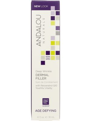 ANDALOU NATURALS: Deep Wrinkle Dermal Filler Age Defying, 0.6 Oz - One Body Beauty