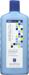 ANDALOU NATURALS: Age Defying Shampoo with Argan Stem Cells, 11.5 oz - One Body Beauty