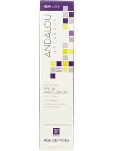 ANDALOU NATURALS: DIY Booster Facial Serum SPF 30 Unscented, 2 oz - One Body Beauty