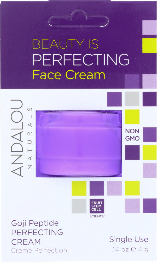 ANDALOU NATURALS: Beauty Is Perfecting Face Cream, 0.14 oz - One Body Beauty