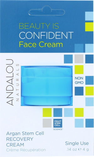 ANDALOU NATURALS: Beauty Is Confident Face Cream, 0.14 oz - One Body Beauty