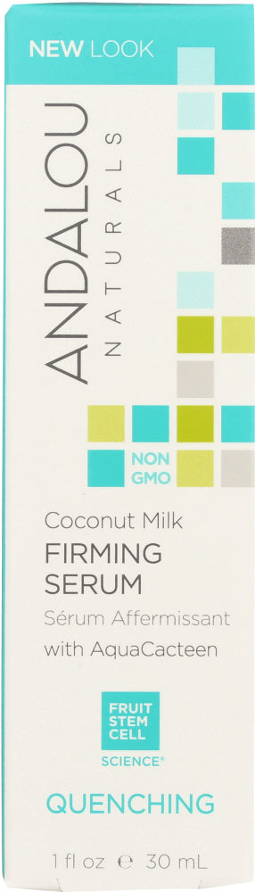 ANDALOU NATURALS: Coconut Milk Firming Serum Quenching,1 oz - One Body Beauty