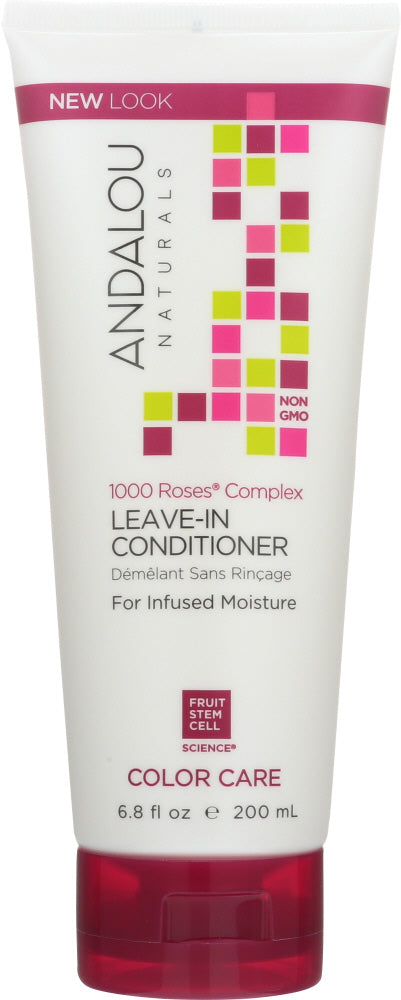 ANDALOU NATURALS: 1000 Roses Complex Color Care Leave-In Conditioner, 6.8 oz - One Body Beauty