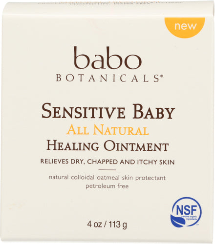 BABO BOTANICALS: Ointment Baby Healing Ff, 4 oz