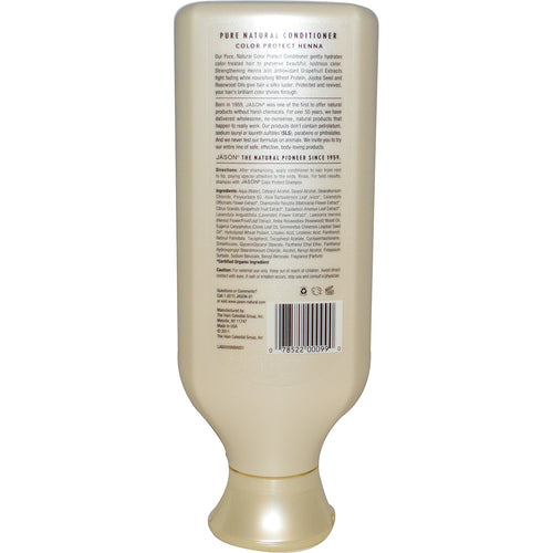 JASON: Pure Natural Conditioner Color Protect Henna, 16 Oz