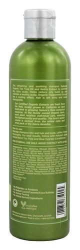 NATURE'S GATE: Herbal Blend Soothing Shampoo Tea Tree & Blue Cypress, 12 oz