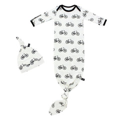 Peregrine Kids Infant Gown Bikes