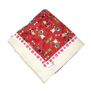 Red Dog Blanket