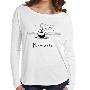 Namaste Tranquility Flowy Ladies' Long Sleeve Tee