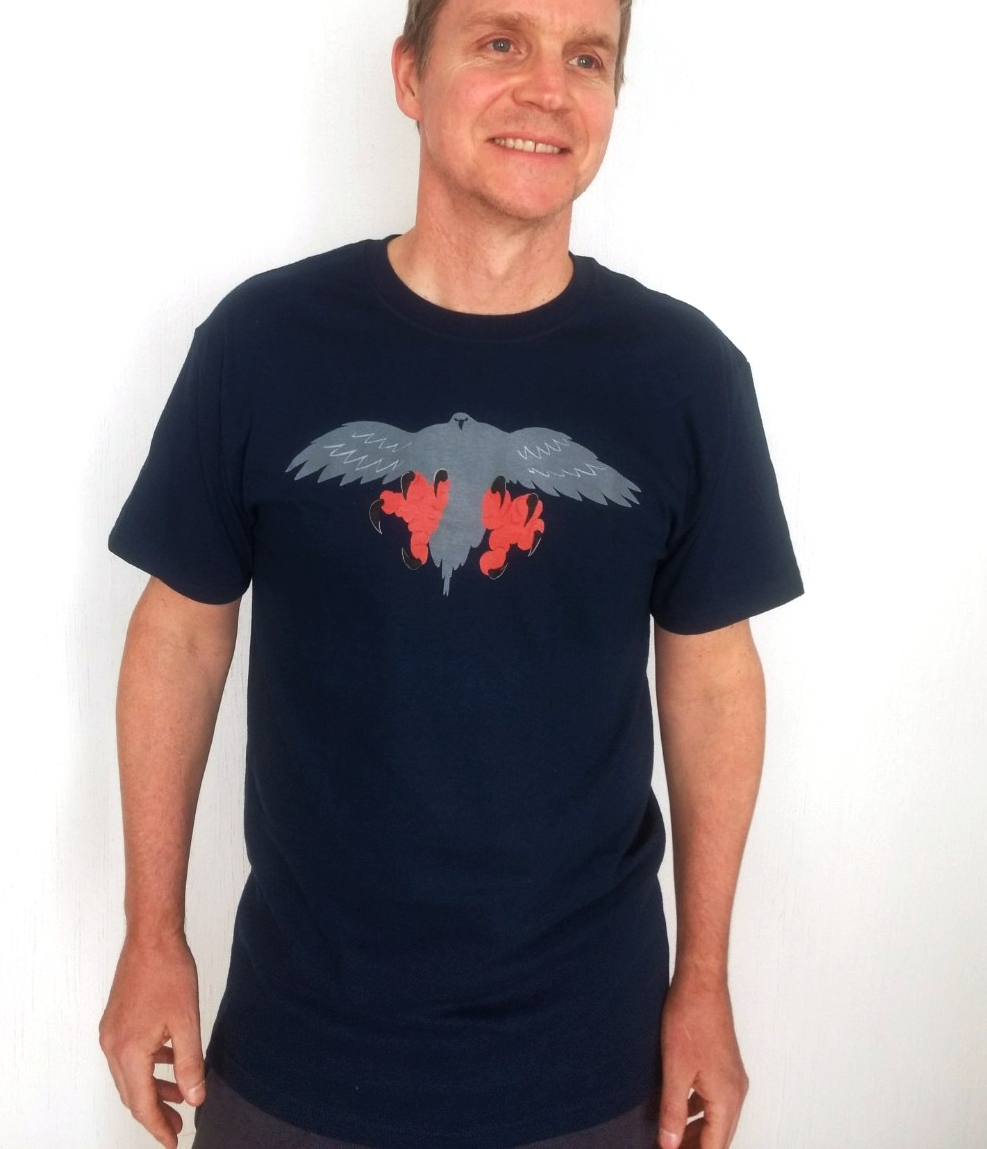 Falconry/Hawk Landing T-Shirt