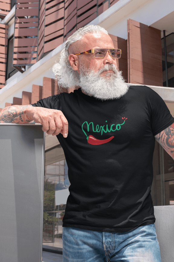 Mexican Chile Pepper Short-Sleeve Unisex T-Shirt