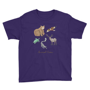 Animal Lover Youth Short Sleeve T-Shirt